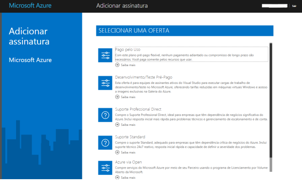 azure-add-assinatura
