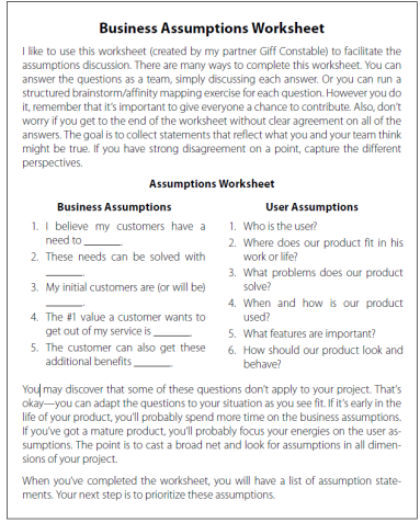 business-assumptions-worksheet