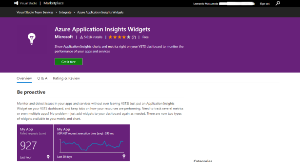vsts-app-insights