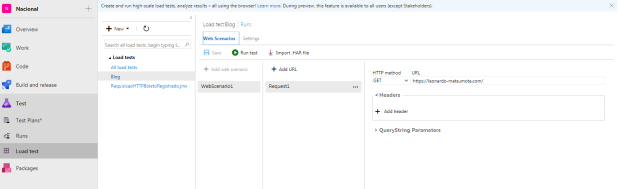 vsts-load-test-settings