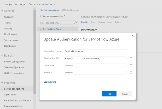 service-connection-vsts