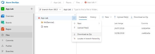 Estratégia de backup e recovery no Azure DevOps – Management